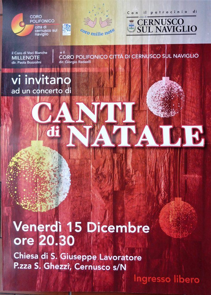 """CANTI DI NATALE  concerto con il Coro di Voci Bianche """"MILLENOTE"""""""
