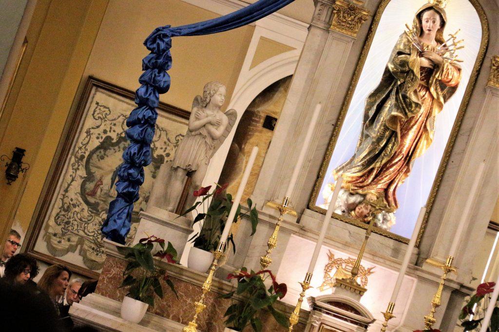 Magnificat:preghiera Eucaristica 21maggio 2018 santuario di S.Maria Addolorata a Cernusco sn