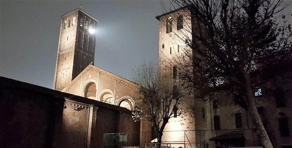 Basilica di S.Ambrogio a  Milano – domenica 16 dicembre 2018 –  AvventoAmbrosiano-S.Messa alle ore 18,00