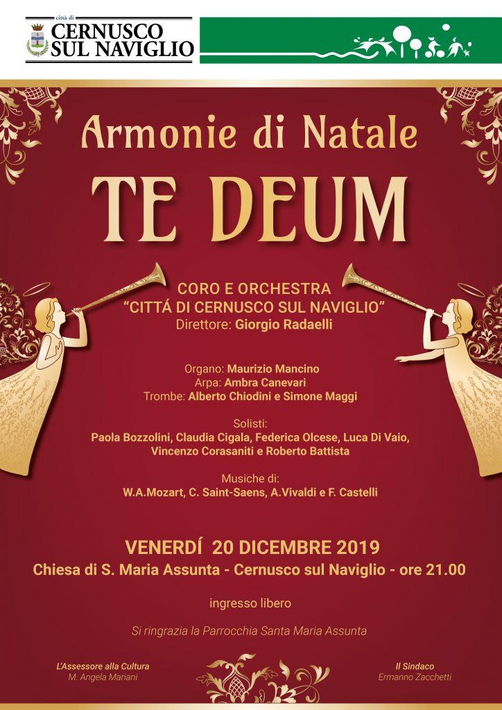 Coro e Orchestra Città di Cernusco s/N – CONCERTO   DI   N A T A L E