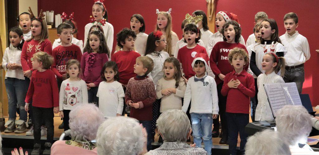 Coro Millenote e CDC Young al Soggiorno Biraghi sabato 30.11.2019 -ACCENDIAMO IL NATALE